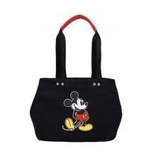Mickey Mouse Cartoon Lady Crossbody Shoulder High Capacity Handbag Shopping Bag Casual Tote Women Bags