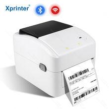 Xprinter XP-420B bluetooth wifi usb envio etiqueta impressora térmica a6 tamanho waybill awb imprimir código qr do pc e telefone inteligente