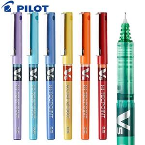 Image 5 - 12Pcs/lot Pilot BX V5 gel pens 0.5mm/0.7mm high quanlity Multicolor ink pens school & office stationery Writing supplies