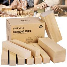 10 sztuk lipa paski twarde gładkie zabawki modele budynku rzeźba rękodzieło DIY akcesoria edukacyjne zabawki tanie tanio Niedokończone Drewna