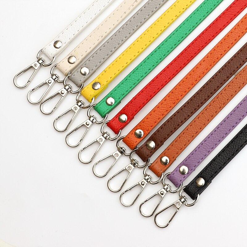 128cm mode sac ceinture bandoulière bricolage remplacement sac à main sac poignées 1.2cm largeur réglable en cuir PU bandoulière sac sangle