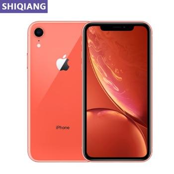 "Original Used Unlock Apple iphone XR Cell phones 6.1"" Face ID 3+64/128/256GB IOS 4G LTE GPS&NFC 7+12MP 1SIM Card Mobile Phones"