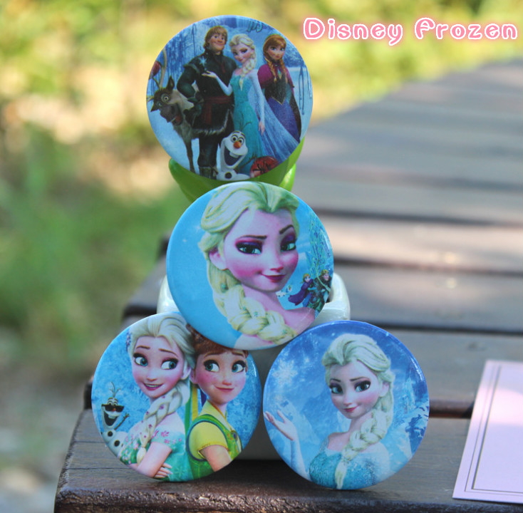 Genuine Disney Frozen Lovely Animal  Cartoon Icons On The Pin  On Backpack Badges For Clothing Acrylic Badges