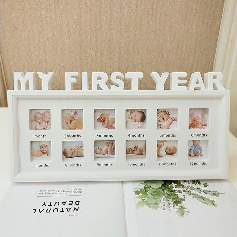 Kids Growing Memory Gift Creative DIY 0-12 Month Baby