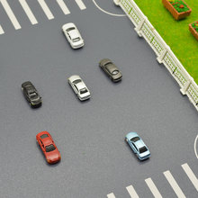 1:200 Scale Architecture Model Car Toys ABS Plastic Color Cars For Diorama Buildings Roads Making Layout Kits