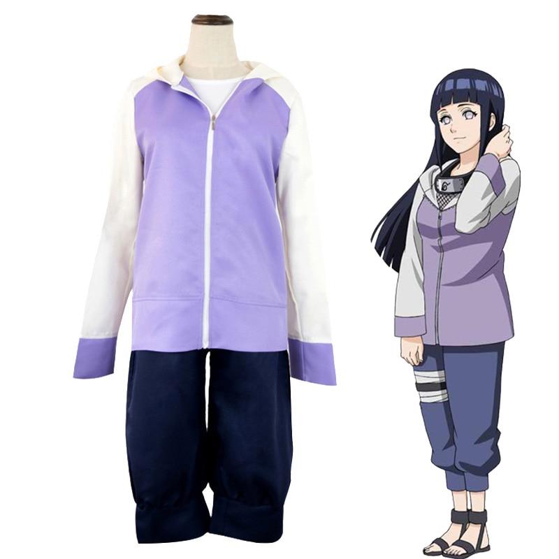 Disfraz de Anime Hinata para mujer y niña, traje con capucha, Festival Kawaii, Fantasía