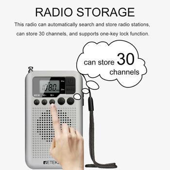 Портативный радиоприемник RETEKESS TR106 AM/FM 5