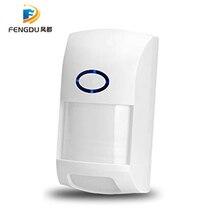 RF PIR תנועת חיישן גלאי 433Mhz Wifi אלחוטי מרחוק מעורר כניסת אבטחה נגד גניבת מערכת חכם בית Alexa משלוח חינם