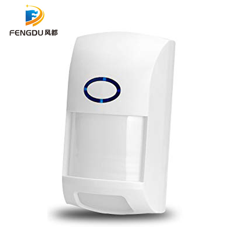 RF PIR Motion Sensor Detector 433Mhz Wifi Wireless Remote Entry Alarm Security System Anti Theft Smart Home Alexa Free Shipping