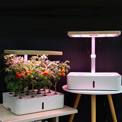 Интеллектуальный соиллесс выращивание цветочный горшок гидропонный горшок для помещений для овощей, огородная Цветочная Детская техника ...