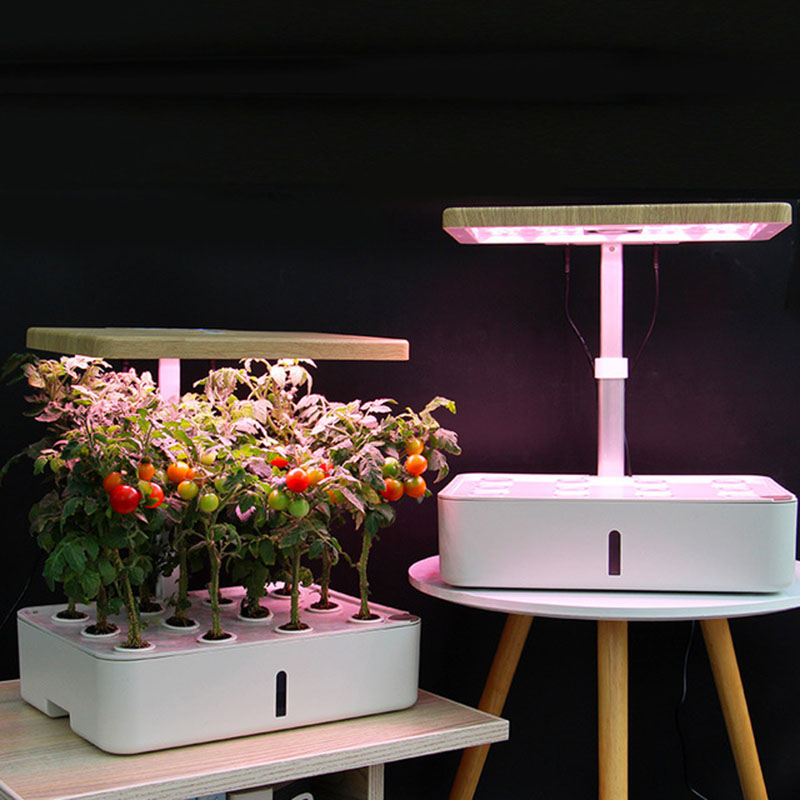 Intelligent Soilless Cultivation Aerogarden Flower Pot Hydroponic Planter Indoor Vegetable Plant Pot Flower Nursery Fill Light