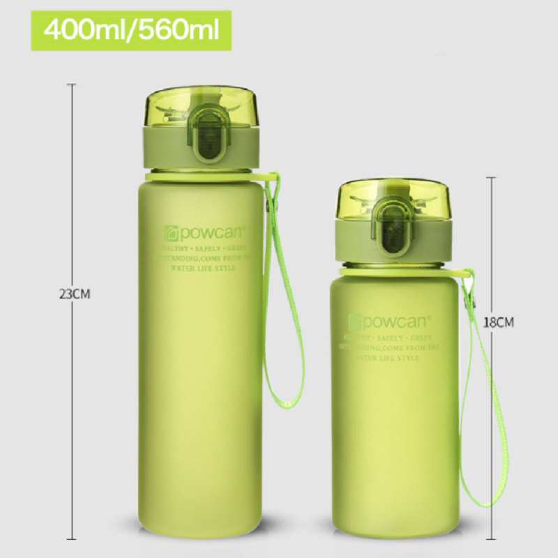 Portable Plastic Summer Sports Cup Leak-proof High Quality Water Bottle Outdoor Tour Bicycle Drink Water Plastic Bottle Student