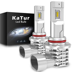 2pcs 9005 9006 LED Fog Lamp Bulbs H11 HB3 HB4 For Corolla Ford Mustang Escape Transit KA Ecosport MK2 Mk3 H7 H4 Led Car Lights(China)