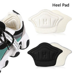 1Pairs Non-Slip Anti Abrasion Heel Pad Portable Soft Foam Insoles High Heel Shoes Pad Foot Pad Cushion Sports Shoes Insoles