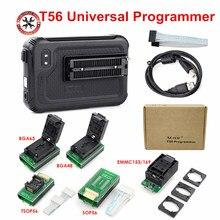 Оригинальный программатор XGecu T56, 56 контактов, драйверы с поддержкой 20000 + микросхем для PIC/NAND Flash/EMMC TSOP48/TSOP56/BGA + 5 адаптеров