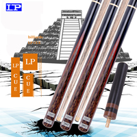 LP authentic legend snooker snooker small head black 8 Chinese eight ball black eight 16 color pool cue through the bar