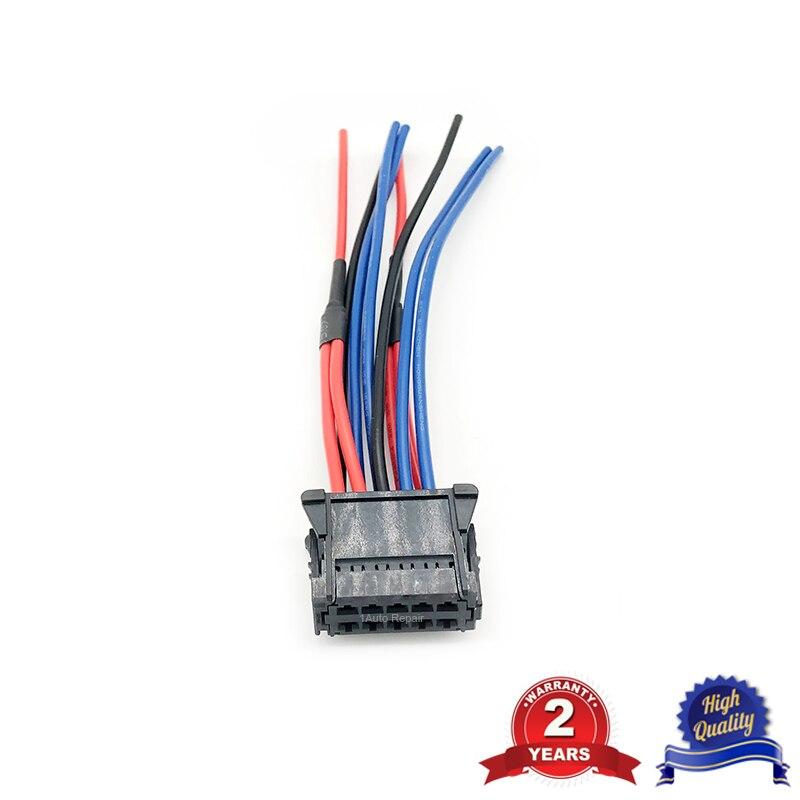 Жгут проводов Кабельный разъем для вентилятор нагрева двигателя резистор для Renault Clio 7701209803 7701060001 7701060002