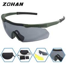 ZOHAN Polarized Cycling Riding Outdoor Sports Bicycle Glasses Men Women Mountain Bike Sunglasses 20g Goggles Eyewear 3 LensUV400