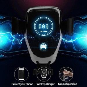 Image 3 - Nhanh 10W Không Dây Xe Hơi Lỗ Thông Khí Gắn Điện Thoại Cho iPhone 6 7 8 XR XS Max Samsung s9 Xiaomi MIX 2S Huawei Mate 20 Pro