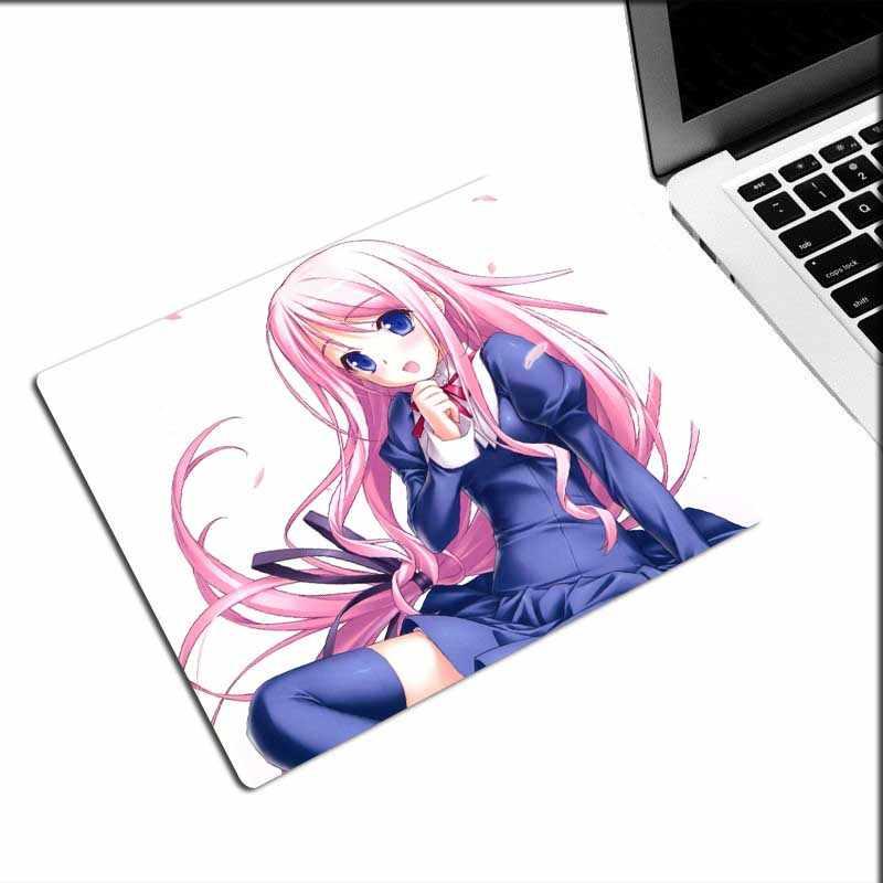 Xgz Natal Promosi Gaming Mouse Pad Anime Lucu Gadis Loli Rok Keyboard Laptop Tikar Baju Renang Adik Karet Non-slip