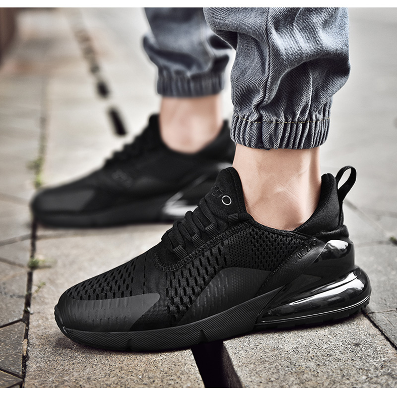 Hc6a779d60ff3434996c78664aac6224eS Fashion Men Casual Shoes 2019 brand sneakers men Lightweight Lace-up Walking Sneakers trainer Male Footwear plus size 39-47
