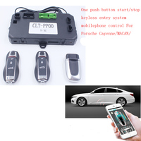For Porsche Cayenne/MACAN/ add one push button start stop system mobile phone APP Control system and PKE Keyless Entry