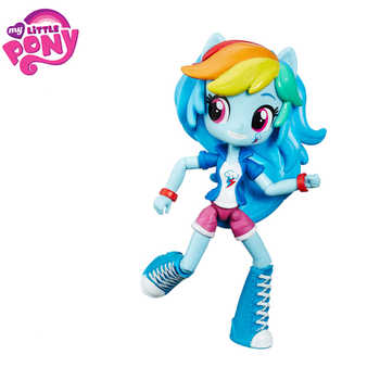 Genuine My Little Pony Toys for Girls Juguetes Rainbow PVC Action Figure Dolls Hot Toys for Children My Little Pony Birthday