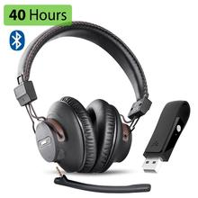 Mic Wireless-Gaming-Headphones-Set Bluetooth Usb Avantree Audio-Dongle for PS-4 PC Laptop