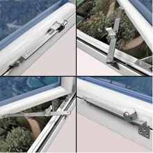 Ограничитель ветра Brace угол контроллер телескопическая поддержка окна пробка из нержавеющей стали раздвижной ограничитель инструменты аксессуары