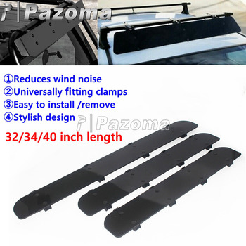 Universal Car Roof Rack Wind Deflector Clamps Connection Roof Rack Cross Bars WindShield Fairing For Jeep Honda Volvo XC70 image
