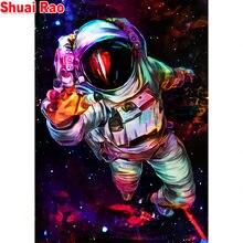 Алмазная живопись астронавты 5 d алмазная картина ручной работы