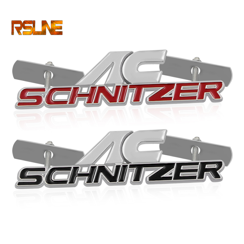 Car Sticker Emblem Auto Badge Metal Decal For BMW AC SCHNITZER M 3 5 E46 E39 E36 E60 E90 E39 X1 X3 X5 X6 Performance Car Styling