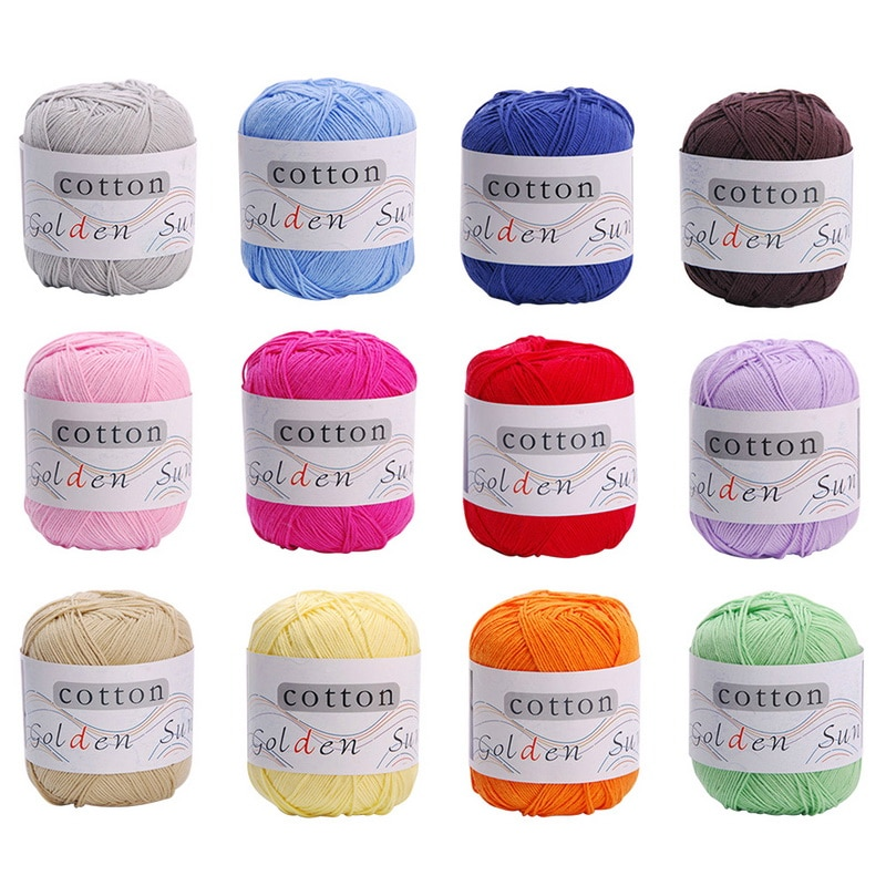 60g/ball Milk Cotton Wool 1pcs Chunky Colorful Hand Knitting Milk Cotton Knitting Crochet Knitwear Wool Kiting Drop Shipping