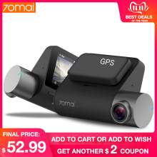 70mai Dash-Cam Dvr Parking-Monitor Vehicle Camera Voice-Control WIFI 1944P ADAS Mi GPS