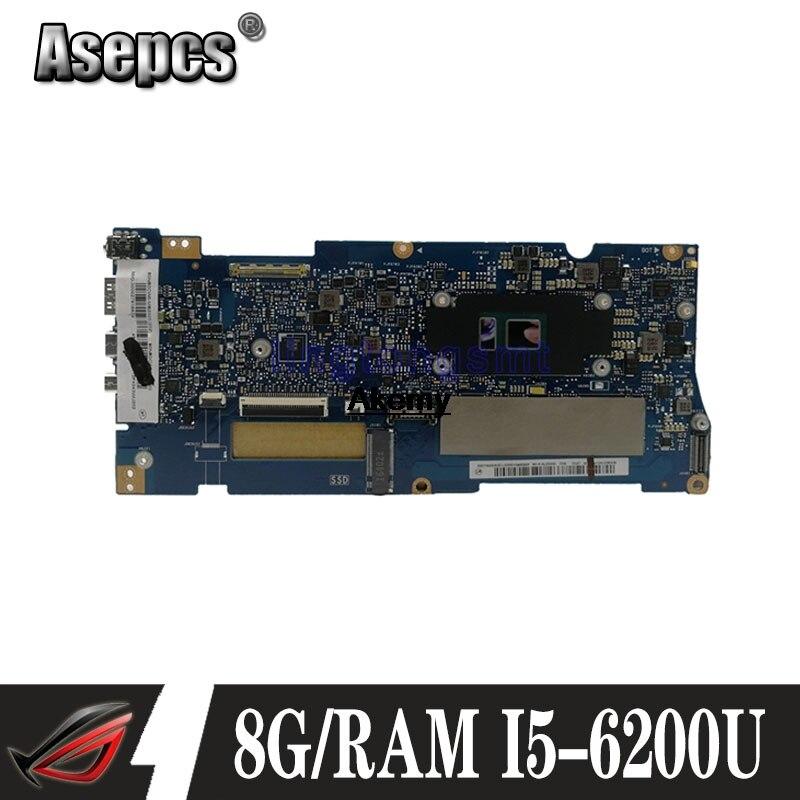 UX330UA MB._8G/RAM I5-6200U For Asus ZenBook UX330U UX330UA Laptop Motherboard Mainboard