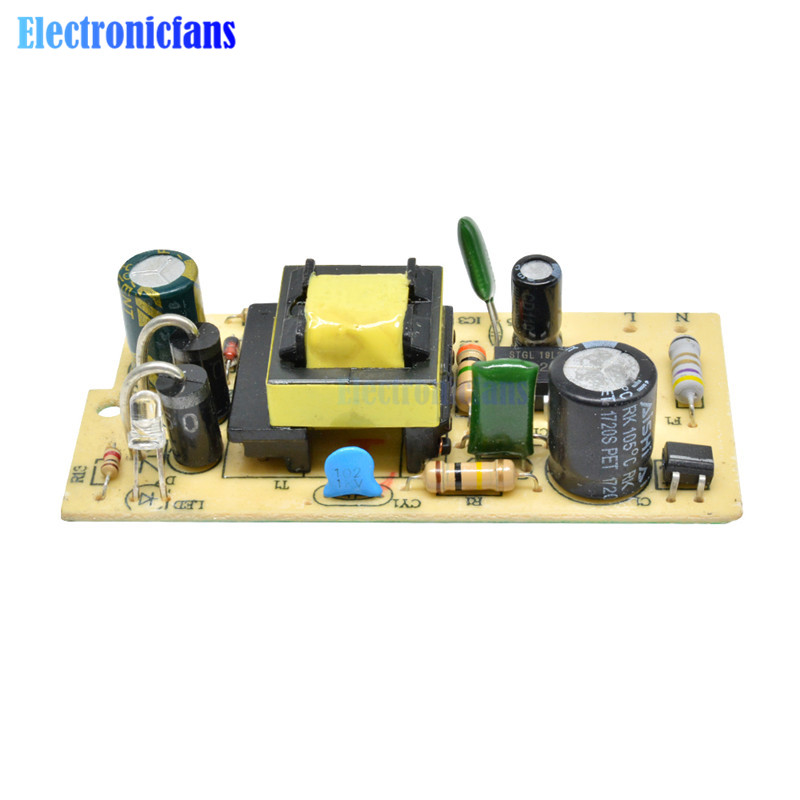 <font><b>DC</b></font> Voltage Regulator Bare Board Repair 2500MA SMPS 110V 220V AC-<font><b>DC</b></font> <font><b>100</b></font>-240V To 5V 2.5A Switching Power Supply Module image