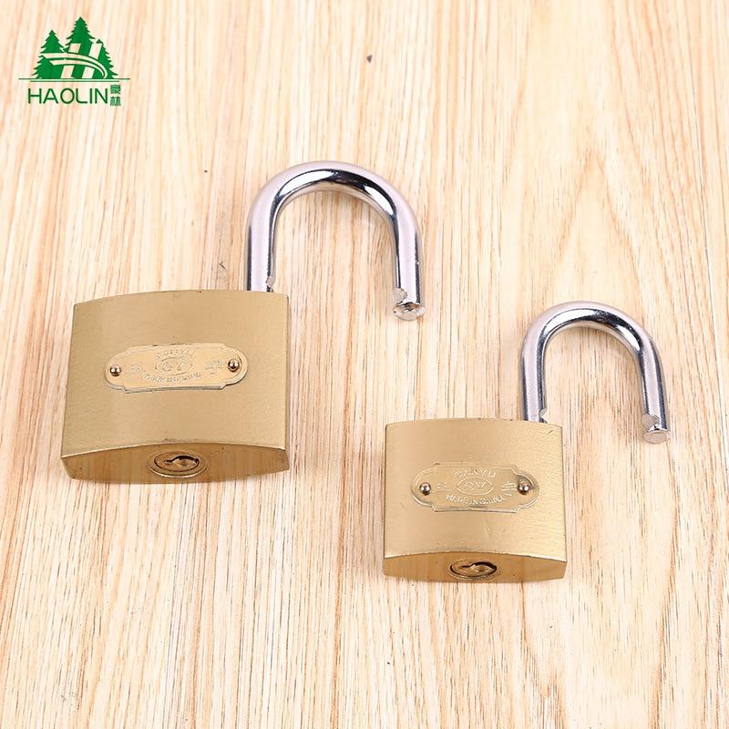 [Manufacturers Direct Selling] Household Atomic Lock Copper Padlock Locks Multi-Specification Lock Head Through Open Padlock Ton