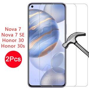 Защитное стекло для honor 30 s 30 s закаленное стекло для huawei nova 7 se защитная пленка honor30 honor30s nova7 7se huawey 9h