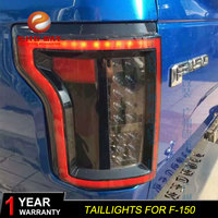 Car Styling Tail Lamp case for Ford Raptor F150 Tail Lights 2015 2017 F 150 Taillights LED taillight Tail Light LED Rear Lamp