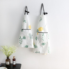 Waterproof oil-proof and antifouling TPU household apron kitchen baking children's painting sleeveless apron