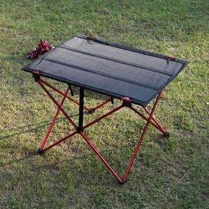 Image 3 - Portable Lightweight Outdoors Table For Camping Table Aluminium Alloy Picnic BBQ Folding Table Outdoor Activties Tavel Tables