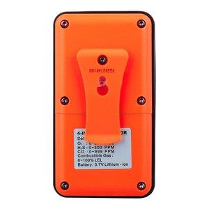 Image 3 - 4 в 1 многогазовый детектор, газовый монитор, кислород, О2, сульфид водорода H2S, датчик угарного газа, CO, горючих газов, LEL, газоанализатор, измеритель