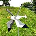 Seagull Windmill Whirligig Asuka Series Windmill Garden Lawn Yard Decor Wind Spinner Creative Housewarming gift Seagul Garden