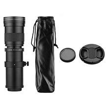 Aparat fotograficzny MF Super teleobiektyw Zoom obiektyw F/8.3-16 420-800mm T mocowanie w/ 1/4 gwint do aparatów Canon Nikon Sony Fujifilm Olympus