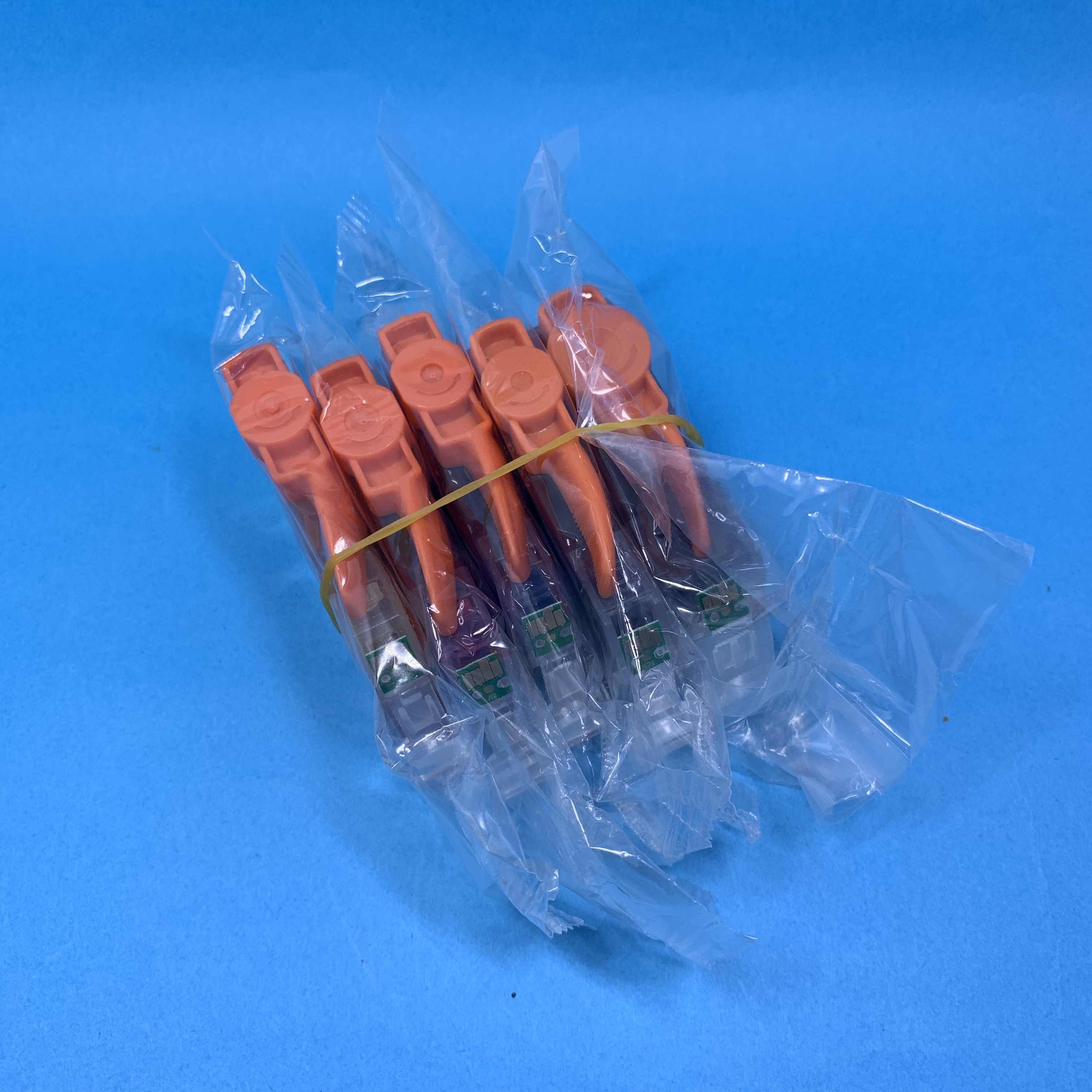 Yotat 5 Pcs PGI5 Ink Cartridge PGI-5 CLI-8 untuk Canon PIXMA IP4200 IP4300 IP4500 MP500 IP5200 MP530 MP600 MP610 MP800 printer