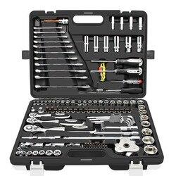 Chave de soquete catraca conjunto ferramentas combinação carro kit multiuso carro reparação automóvel e seguro herramientas t4035