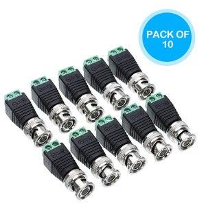 BNC Connectors DIY for CCTV Surveillance Video Camera Coaxial/Cat5/Cat6 Cables