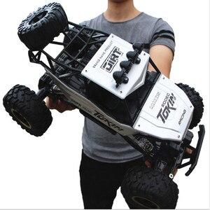 Image 2 - Voiture télécommandée 4 WD télécommande 2.4G, voitures télécommandées, jouets pour garçons, Buggy, camions tout terrain pour enfants, véhicule modèle, 37 CM 1:12