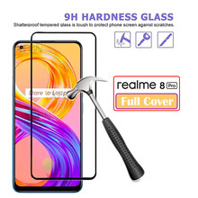 Full Cover Tempered Glass For Oppo Realme 8 Pro Screen Protector For Realme8 8Pro Glass For Oppo Realme 8 Pro Glass 6.4