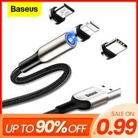 Cavo Micro USB per caricabatterie magnetico Baseus per iPhone telefono cellulare Android magnete a ricarica rapida cavo USB tipo C cavo dati
